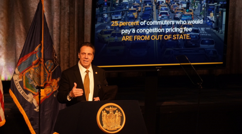 NY Gov Cuomo Suggests Congestion Pricing To Avoid $4 Fares and Fix Aging MTA Train System [VIDEO]
